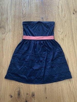 Mango Sukienka koktajlowa ciemnoniebieski-różowy