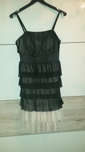 Orsay Cocktail Dress black-oatmeal