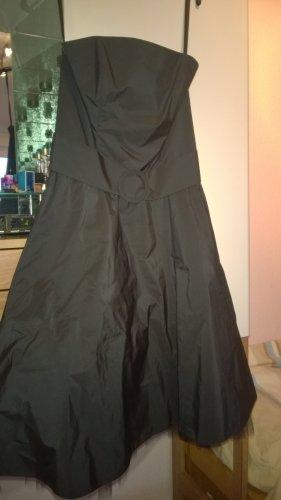 Vera Mont Sukienka z gorsetem czarny Sztuczne włókno