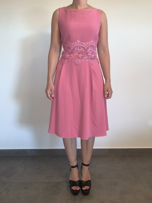 Cocktailkleid von Vera Mont Gr. 38 rosa