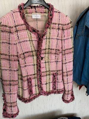 ae elegance Tweed Blazer pink