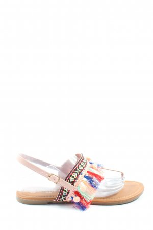 Coco Perla Dianette Sandals pink casual look