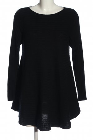 Cocoa Cashmere Swetrowa sukienka czarny W stylu casual