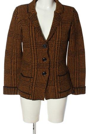 Cocogio Klassischer Blazer brown-black check pattern business style