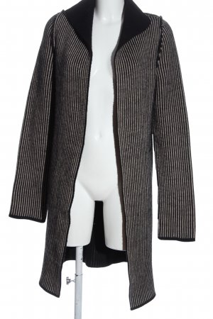 Cocogio Knitted Cardigan black-white allover print casual look