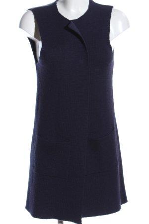 Cocogio Strickweste blau Casual-Look