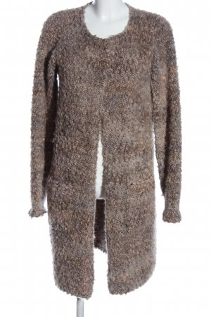 Cocogio Between-Seasons-Coat brown flecked casual look
