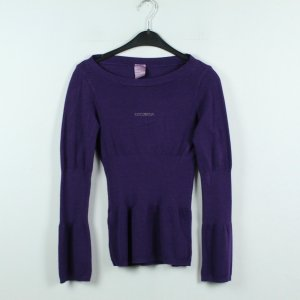 Coconuda Crewneck Sweater dark violet mixture fibre
