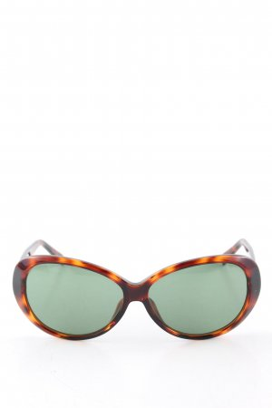 Butterfly Glasses brown-light orange color gradient casual look