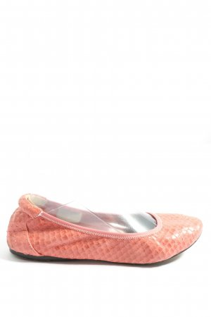 Cocorose Foldable Ballet Flats pink allover print casual look