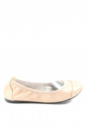 Cocorose Foldable Ballet Flats cream casual look
