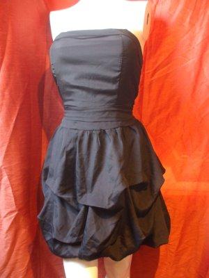 Miss Loona Ballonjurk zwart Polyester