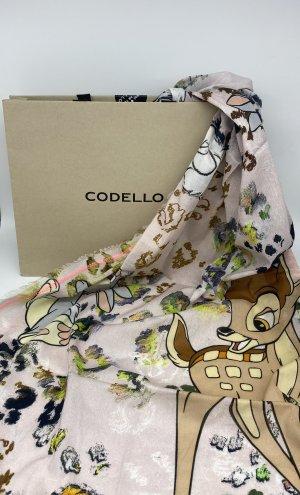 CODELLO x Disney Summer Scarf pink-light pink cotton
