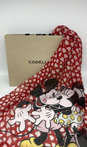 CODELLO x Disney Chal veraniego rojo