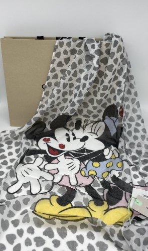 CODELLO x Disney Summer Scarf white-light grey mixture fibre
