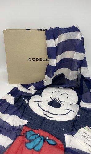 CODELLO x Disney Summer Scarf blue-white
