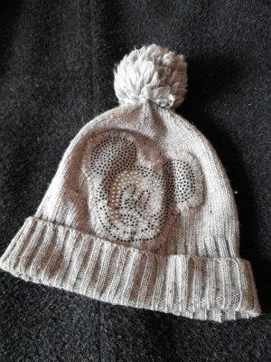 CODELLO x Disney Knitted Hat grey wool