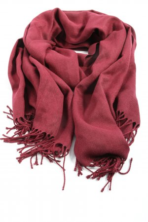 Codello Fringed Scarf red casual look