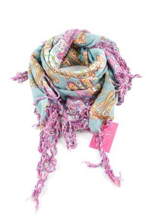 Codello Fransenschal abstraktes Muster Street-Fashion-Look