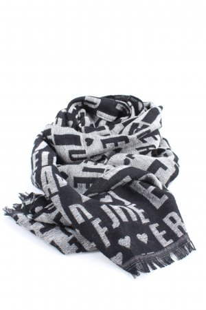 Codello Fringed Scarf black-white allover print casual look