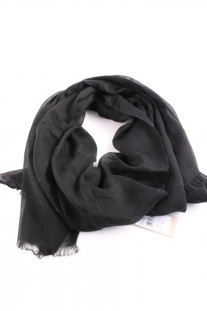 Codello Fringed Scarf black casual look