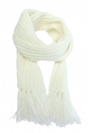 Codello Fringed Scarf white casual look