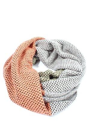 Codello Écharpe en crochet imprimé allover style décontracté