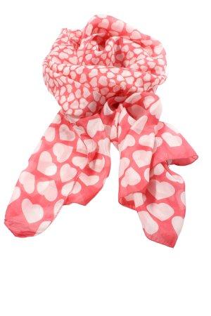 Codello Neckerchief red-white allover print elegant