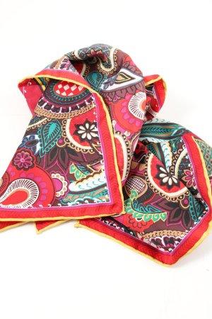 Codello Halstuch rot abstraktes Muster Elegant