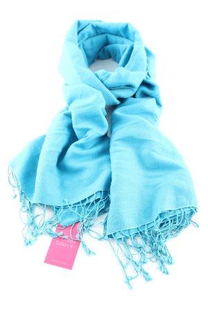 Codello Sciarpa in cashmere blu stile professionale
