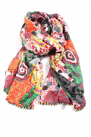 Codello Crinkle Scarf abstract pattern casual look