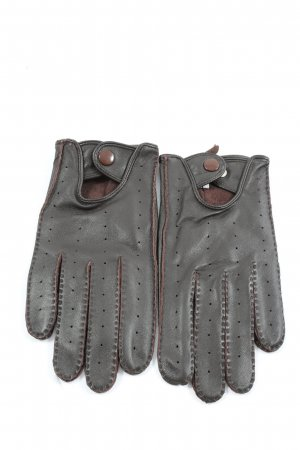 Codello Leather Gloves black-brown casual look