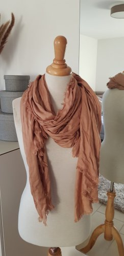 Codello Summer Scarf cognac-coloured
