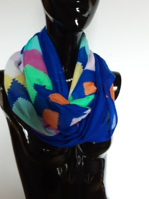 Codello Écharpe ronde multicolore polyester