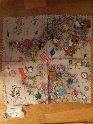 CODELLO X PEANUTS Silk Cloth multicolored