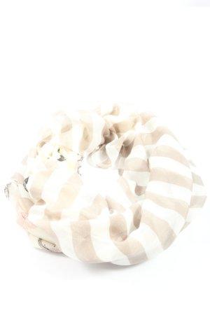 Codello Caperuza blanco-marrón estampado repetido sobre toda la superficie