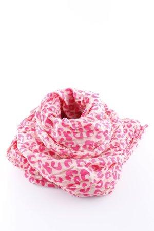 Codello Sciarpone rosa-crema Stampa leopardata stile casual