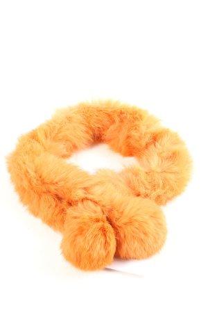 Codello Écharpe ronde orange clair style décontracté