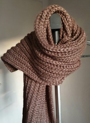 Codello Knitted Scarf light brown