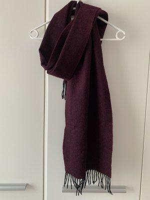 Codello Bufanda de punto violeta amarronado-violeta oscuro