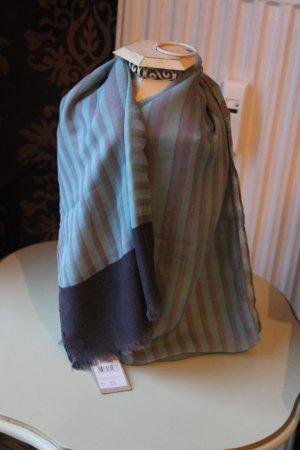 Codello Scarf silver-colored-pale blue polyester