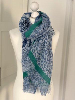 Codello Schal Tuch blau weiß grün