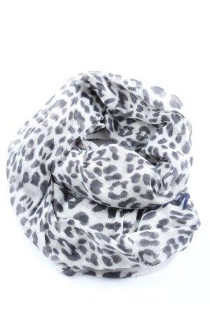 Codello Tube Scarf light grey-white leopard pattern casual look