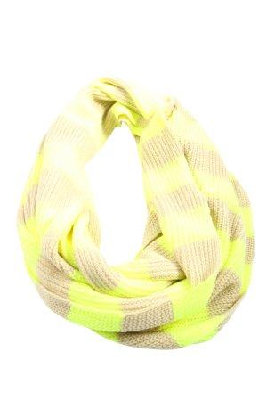 Codello Scaldacollo crema-giallo pallido motivo a righe stile casual