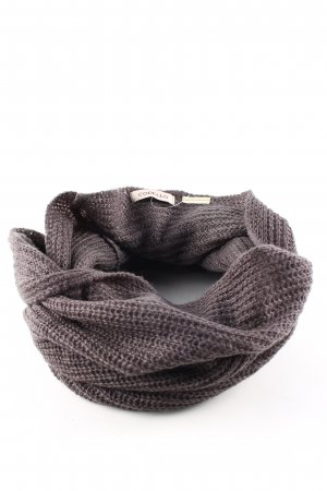 Codello Tube Scarf brown flecked casual look