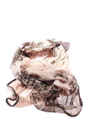Codello Komin kremowy-brązowy Abstrakcyjny wzór W stylu casual