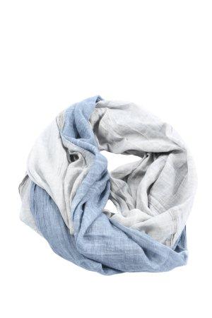 Codello Tube Scarf blue-light grey weave pattern casual look