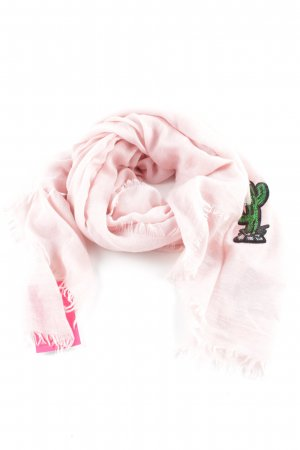 Codello Shoulder Scarf pink themed print business style