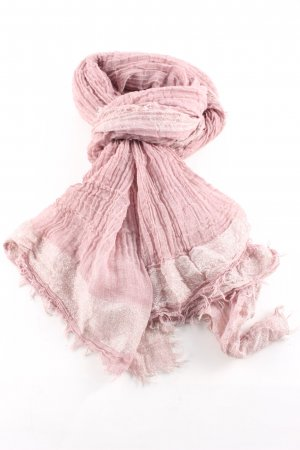 Codello Shoulder Scarf pink striped pattern casual look