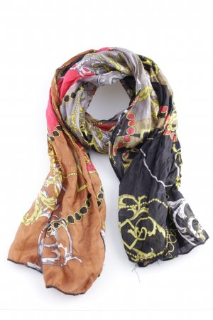 Codello Silk Scarf abstract pattern casual look